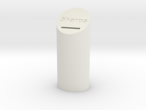 Sharps Disposal Container in White Strong & Flexible