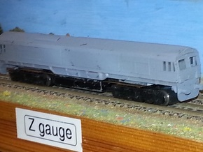 BR Class 66 - Z - 1:220 in Frosted Ultra Detail