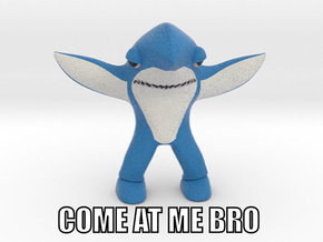 Left Shark - Come at me Bro in Full Color Sandstone