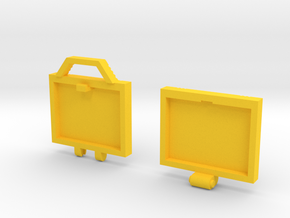 idw: briefcase style A in Yellow Strong & Flexible Polished