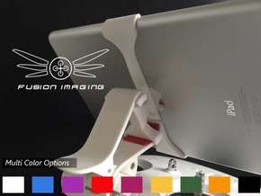 iPad Mini Vector (V2) Remote Mount for DJI Phantom in White Strong & Flexible Polished