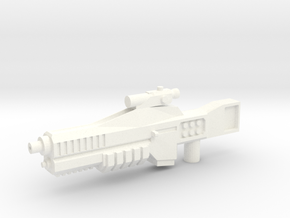 Cybetronian Phaser in White Strong & Flexible Polished