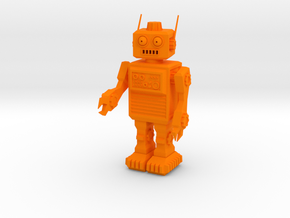 Rob the Robot in Orange Strong & Flexible Polished