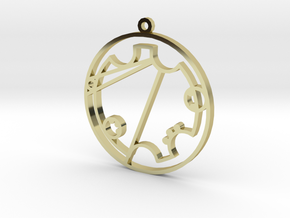 Trystal - Necklace in 18k Gold Plated