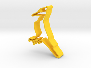 Ivory-Billed Woodpecker in Yellow Strong & Flexible Polished