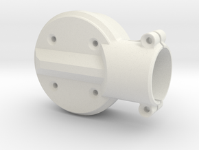 Motor-mount-XS-top in White Strong & Flexible