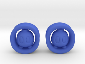 Bomb Bomb 00G Set in Blue Strong & Flexible Polished