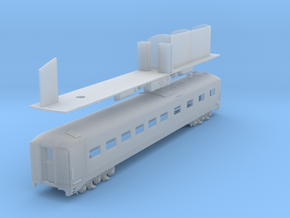 D&H Dining Car #151 (1/160) in Frosted Ultra Detail