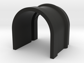 Kg13 Button Cover in Black Strong & Flexible