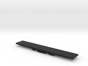 N Scale Floor for R32 Subway Shell in Black Strong & Flexible