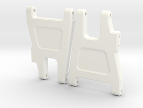 '91 Worlds Conversion - Rear Arms 2.0 in White Strong & Flexible Polished