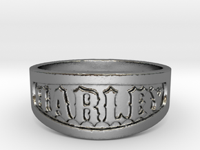 Harley Ring Size 14 in Polished Silver