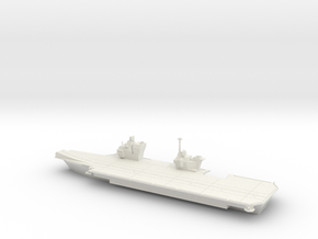 1/600 Queen Elizabeth Class Aircraft Carrier in White Strong & Flexible