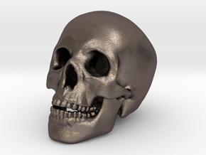 Human Skull Medium 2cm in Stainless Steel