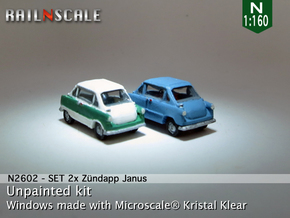 SET 2x Zündapp Janus (N 1:160) in Frosted Ultra Detail