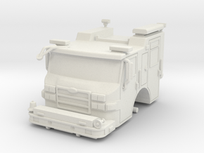 Vehicle-016-cab-hollow 1-64 in White Strong & Flexible