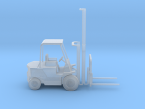 TT Scale Forklift With Positionable  Mast 1:120 in Frosted Ultra Detail