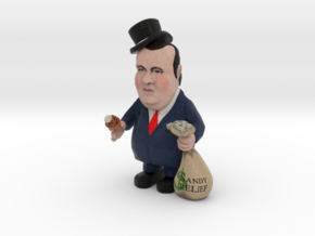 Small - Top Hat Re-election Slush Fund Chris Chris in Full Color Sandstone