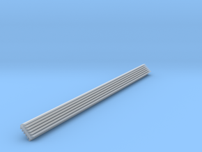 HO Scale 120 Degree INSIDE Structure Corner Trim in Frosted Ultra Detail
