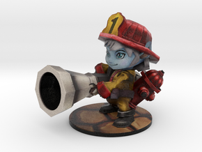 Tristana Firefighter - 65mm in Full Color Sandstone