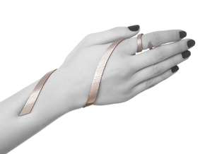Kimberly Ovitz - Coelom Bracelet  in Black Strong & Flexible