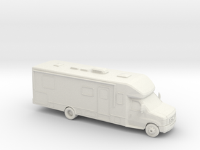 1/87 Ford E Series RV in White Strong & Flexible