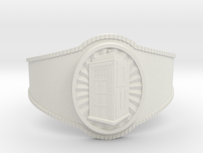 Dr. Who Bracelet in White Strong & Flexible