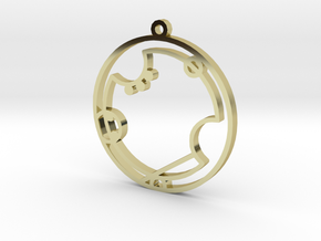Avery - Necklace in 18K Gold Plated