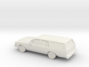 1/87 1988 Chevrolet Caprice Classic Station Wagon in White Strong & Flexible