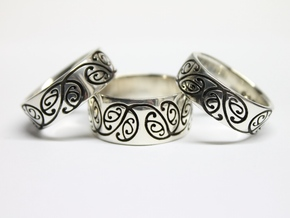 this one  Ring Size 12 in Polished Silver