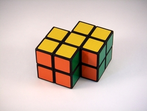 Siamese 2x2x2 Puzzle in White Strong & Flexible