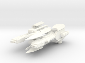 TF: Prime deluxe RID Arcee Blasters and Blades in White Strong & Flexible Polished