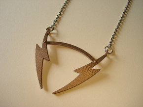 V19 Necklace in Stainless Steel