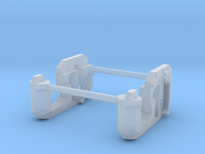 1/64th Scale UFS Lift Axle suspension in Frosted Ultra Detail