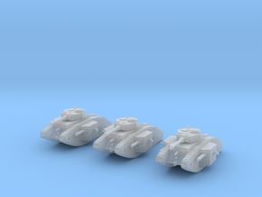 6mm Dieselpunk Primarch tank in Frosted Ultra Detail