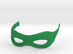 Arrow Mask in Green Strong & Flexible Polished