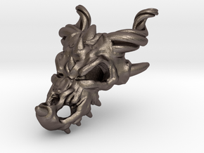 Dragon Skull in Stainless Steel