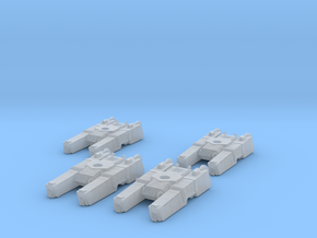 285th Centaur Hovertank platoon (tank hulls only) in Frosted Ultra Detail
