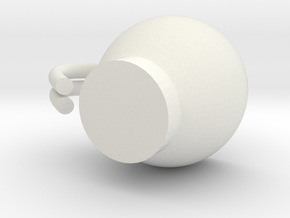 Espresso Cup! in White Strong & Flexible