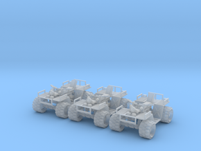 28mm Quad motor ATV (3) in Frosted Ultra Detail