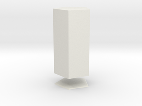 Columna Laterata Pentagona Solida in White Strong & Flexible