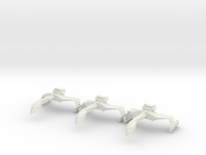 Romulan Wildfire Refit A 3 (Small) in White Strong & Flexible