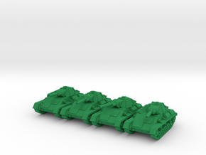 1/160 Soviet T-70 light tank (4) in Green Strong & Flexible Polished