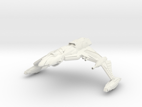 Ku'Doch Class B BattleCruiser in White Strong & Flexible