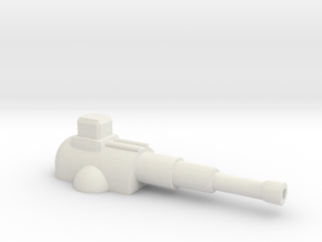 Heavy Cannon in White Strong & Flexible