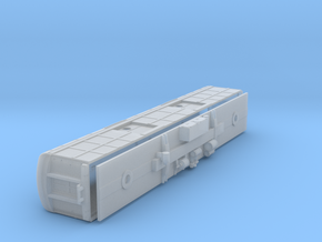 N-scale (1/160) PRR B60b Baggage Car Porthole Door in Frosted Ultra Detail