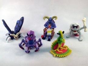 2 Inch Monsters: Batch10 in Full Color Sandstone