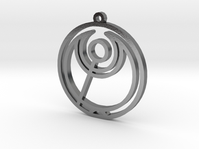 Abbi - Necklace in Polished Silver