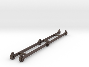 Coupling rods for J65 class 0.6.0 tank loco in Stainless Steel