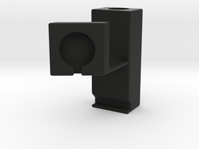 Apple Watch Stand with small footprint in Black Strong & Flexible